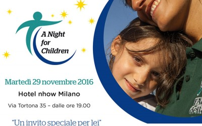 A Night for Children. Un evento per sostenere i nostri progetti