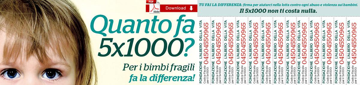Locandina PDF 5X1000 da stampare in Azienda