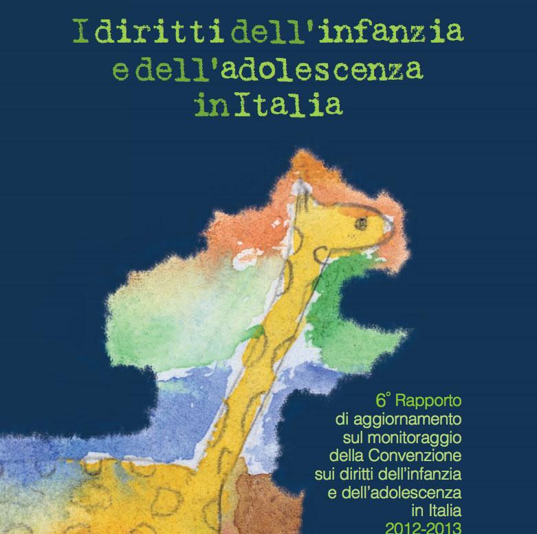 """6° rapporto Gruppo CRC """"I diritti dell'infanzia e dell'adolescenza in Italia"""""""