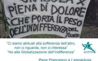 Emergenza migranti: No alla globalizzazione dell'indifferenza