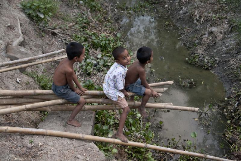 Bambini in India