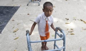 Bilal, il piccolo disabile che non riusciva a entrare a scuola