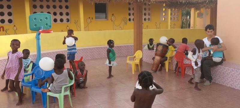 Viaggio ad Haiti - A 5 anni dal terremoto bambini casa