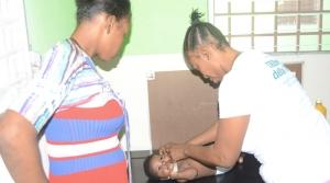 Viaggio ad Haiti - La clinica San Franswa, l'unica tra le baracche