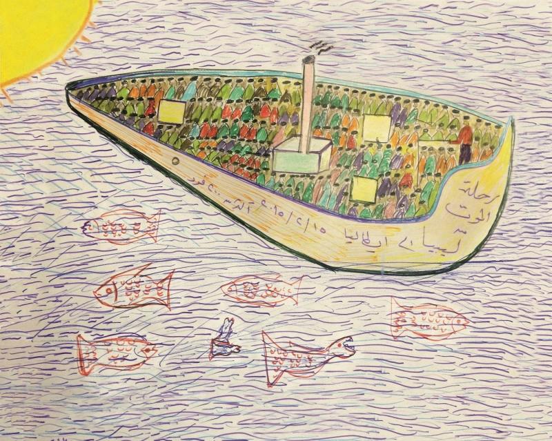 """Mostra """"In Viaggio verso il futuro"""", storie di bambini siriani in transito"""