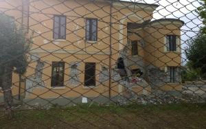 L'intervento per i bambini del terremoto