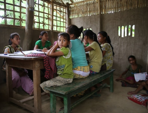 Educational support for disadvantaged children in Assam