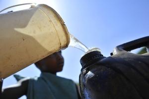 Tanica di Acqua potabile in Kenya