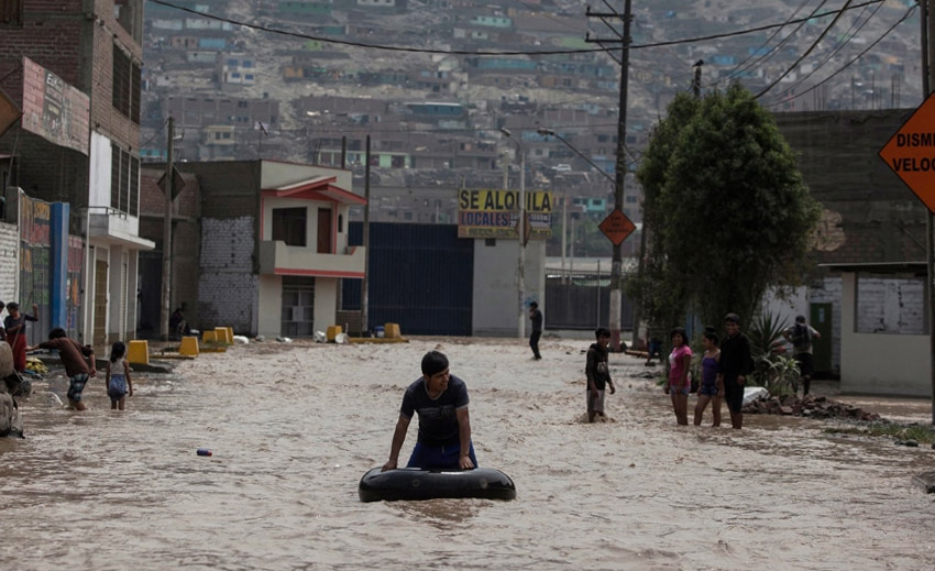 Emergenza Alluvione in Perù 2017