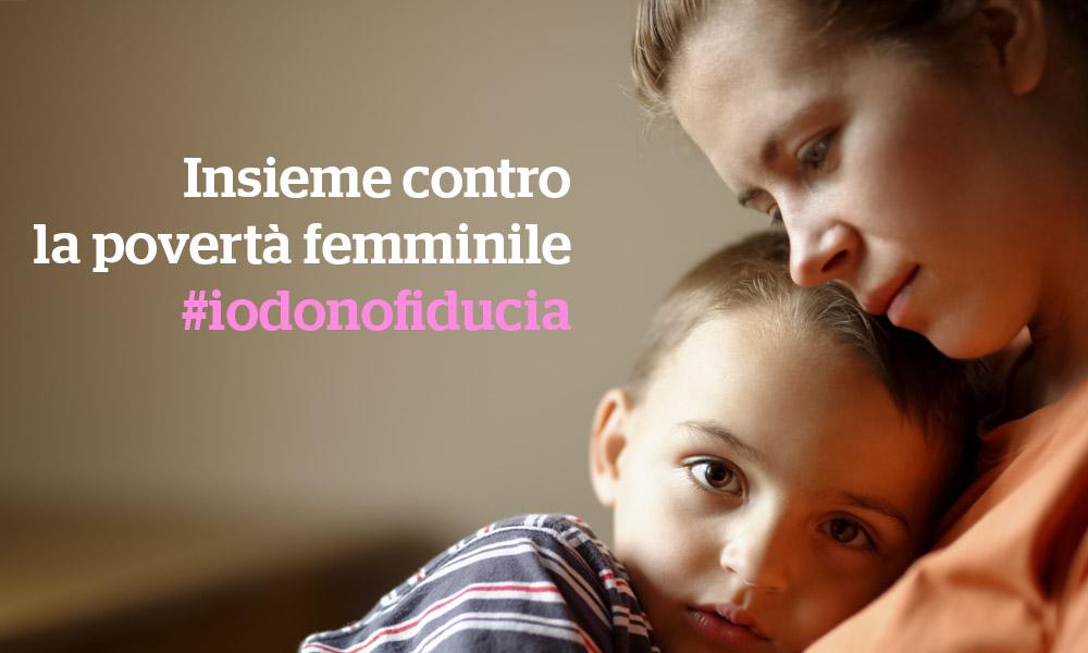 Insieme contro la povertà femminile in Italia