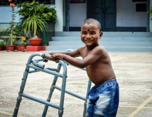 Support to Baruipur's centre for disabled children