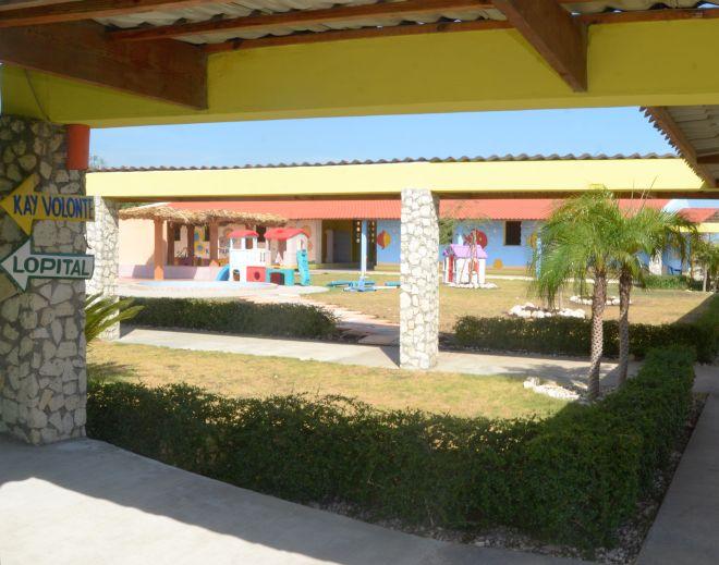 Haiti centro di accoglienza