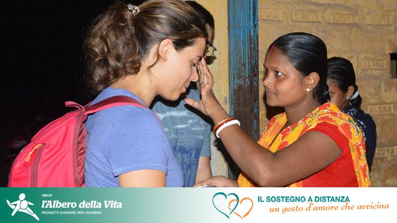 Donatori SAD in India per incontrare il bambino sostenuto a distanza