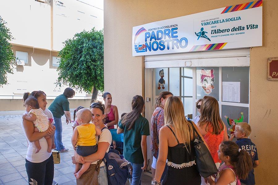 Varcare la Soglia centro di Accoglienza Palermo