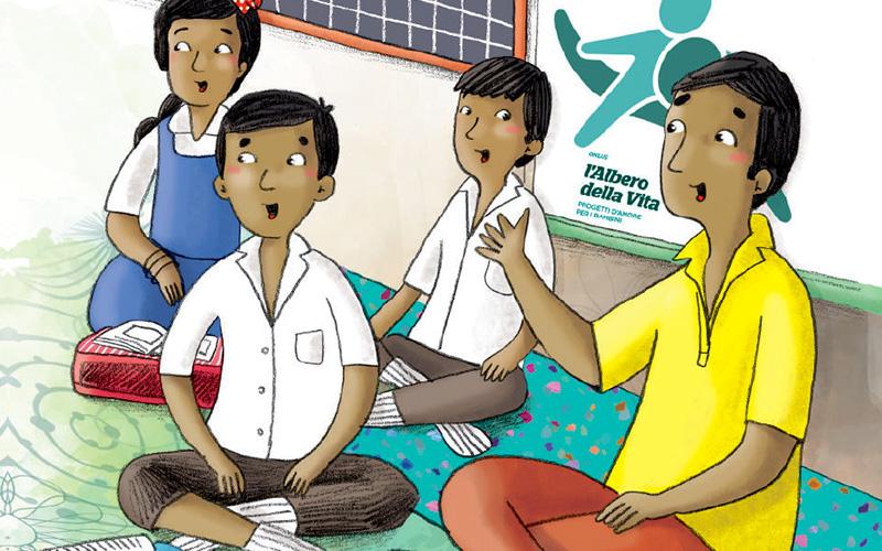 Storie illustrate - Sostegno a Distanza in India