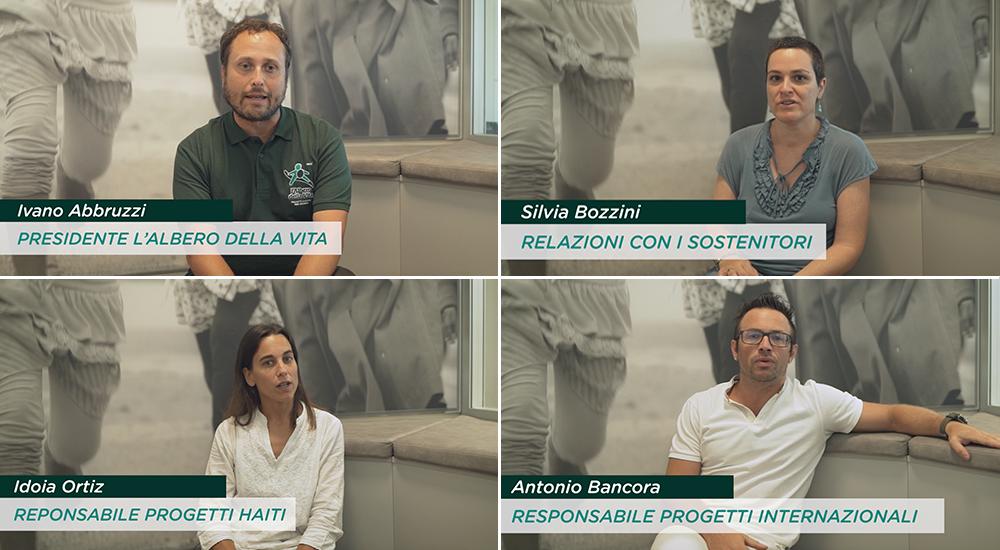 Video interviste L'Albero della Vita #iniziadanoi