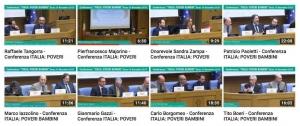 Video conferenza ITALIA POVERI BAMBINI