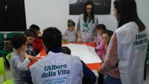 Ludoteca Ricostruire le storie bambini di Acquasanta