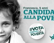 Vota contro la povertà Francesca campagna Albero della Vita