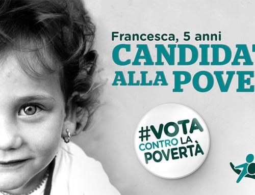 #votacontrolapovertà fai sentire la tua voce