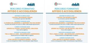 Percorso Affido Milano aprile 2018