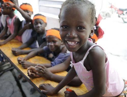 Da Haiti in Italia, il sogno di un campo estivo