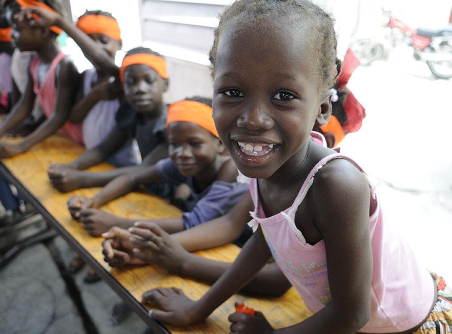 Bambina Haiti