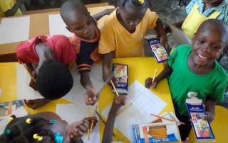A scuola ad Haiti