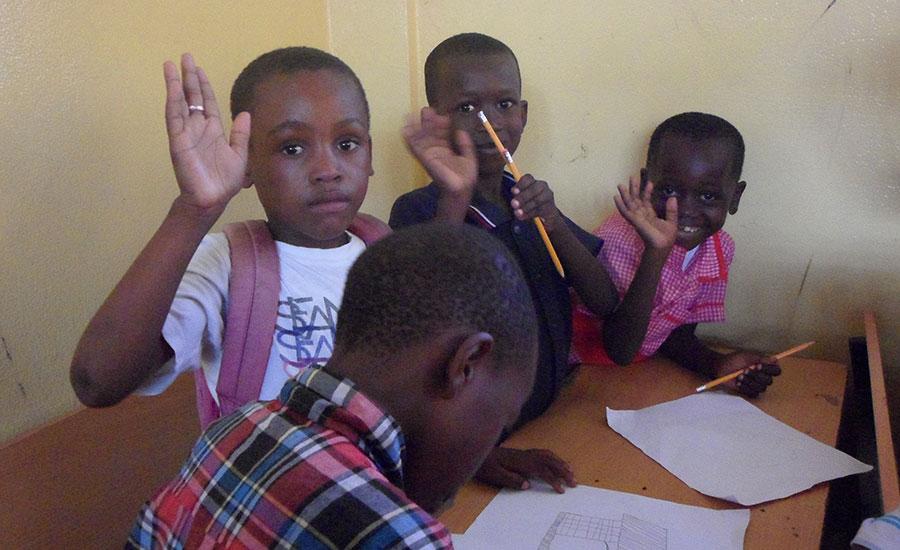 A scuola da Haiti