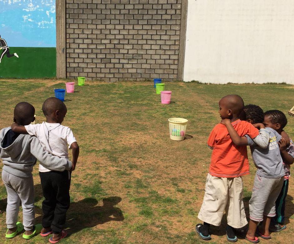 Bambini del centro di Tarek al Matar Libia