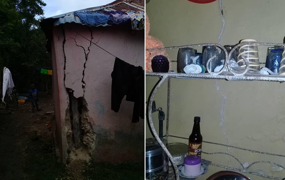 Danni causati dal terremoto Haiti