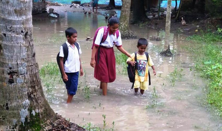 Alluvioni in India Sostegno a Distanza