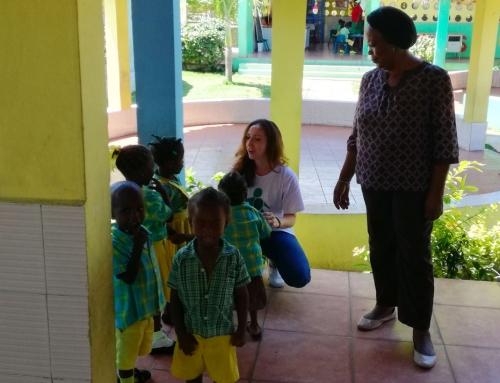 Silvia e i bambini di Waf