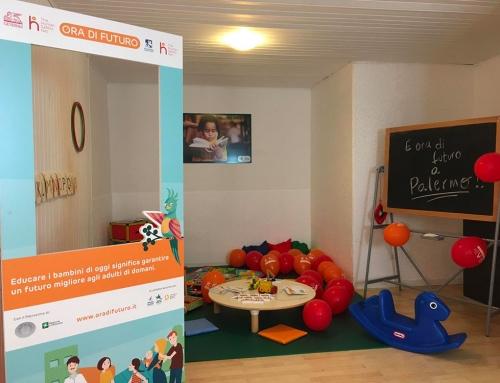 """Nuovo Centro """"Ora di Futuro"""" a Palermo  per le famiglie in difficoltà con bambini da 0 a 6 anni"""