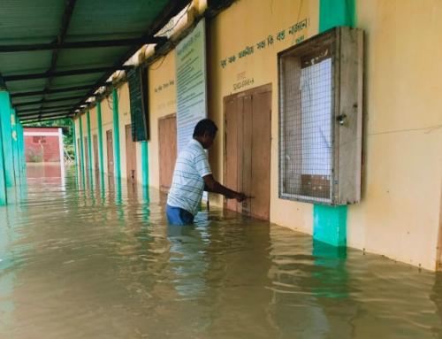 Migliaia di sfollati in Assam a causa delle alluvioni