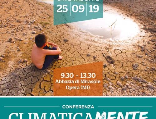 CONFERENZA 25 settembre 2019: CLIMATICAMENTE