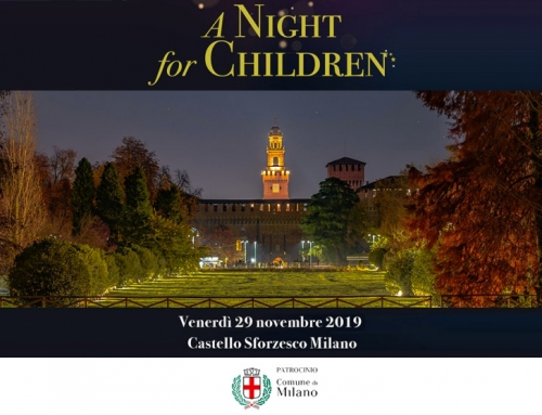 "Un evento per aiutare mamme sole con bambini ""A Night for Children"""