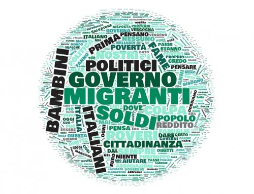 La voce del web attribuisce, al 65%, la colpa della povertà in Italia ai migranti e ai politici – #lavocedeibambini