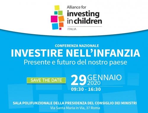 Conferenza: Investire nell'infanzia presente e futuro del nostro Paese