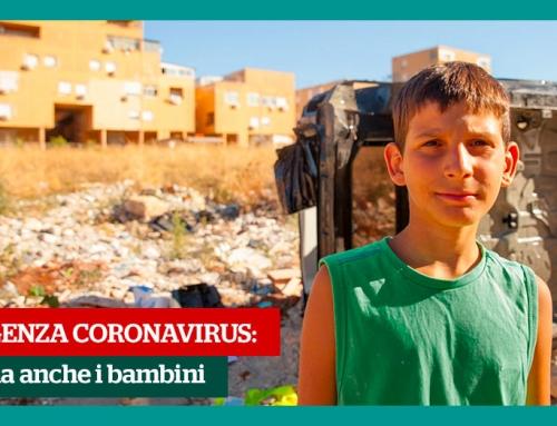 Emergenza Coronavirus – Il nostro intervento per bambini e famiglie
