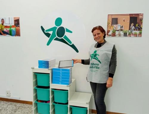 100 tablet donati alle scuole superiori di Perugia