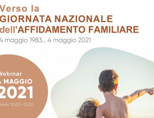 Verso la giornata nazionale dell'affidamento familiare – Webinar