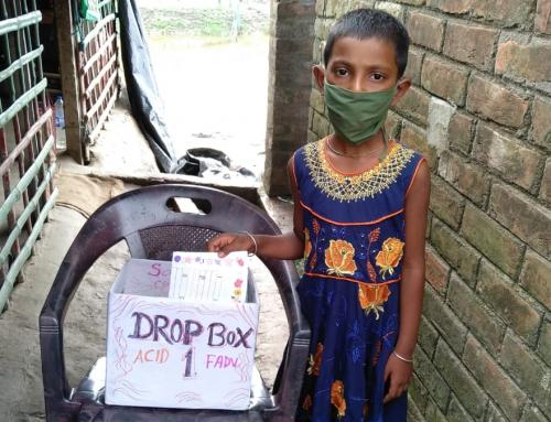 """La nostra """"DAD"""" in India è una scatola di cartone"""